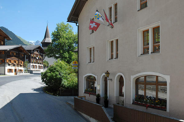 Gasthaus Edelweiss, Langwies